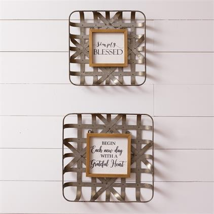 Wall Hangings - New Day, Simply Blessed