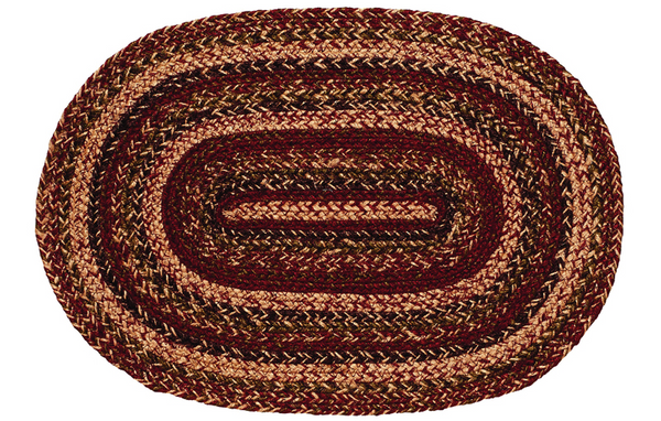 "Apple Cider 13"" x 19"" Braided Placemat"