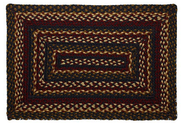 Blueberry Braided Rectangle Rugs