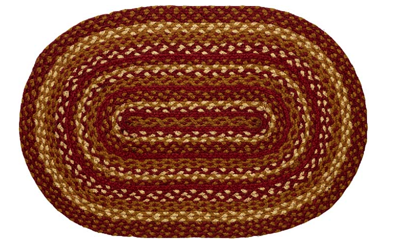 Maize Oval Braided Rugs
