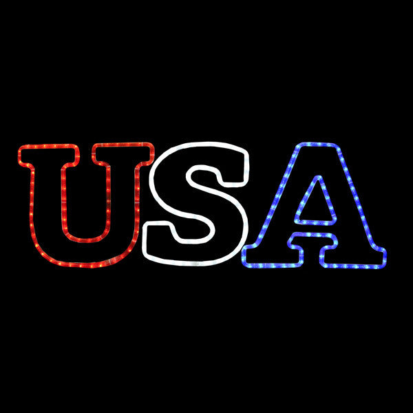 LED USA Sign
