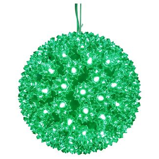 LED Starlight Sphere - 10 Inch - 150 Count - Green