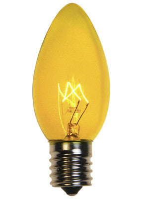 C9 Christmas Lights - Yellow - 25 Pack