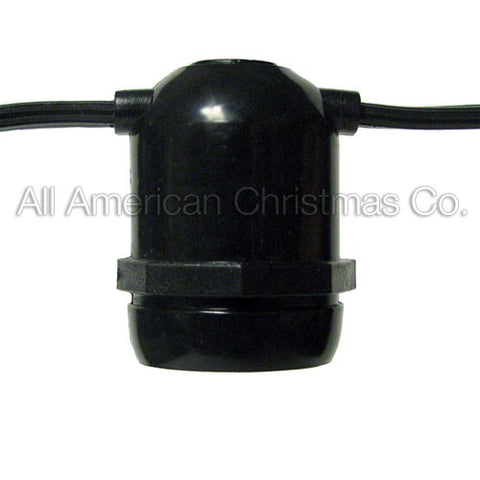 330' Commercial Light Spool - E-26 Molded Sockets - SPT-2 | All American Christmas Co
