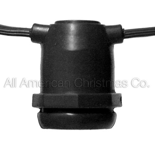 Commercial Light Spool - E-17 Molded Sockets - 330'