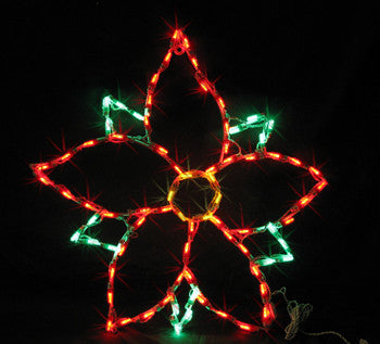 2' Poinsettia | All American Christmas Co