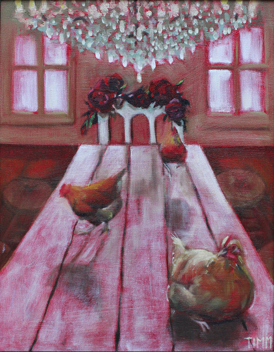 Mother Hen by Lisa Timmerman