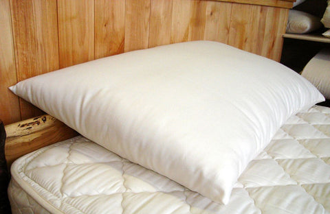 Extra Thick Fill Wool Bed Pillows by Holy Lamb Organics - The Green Life Company - 1