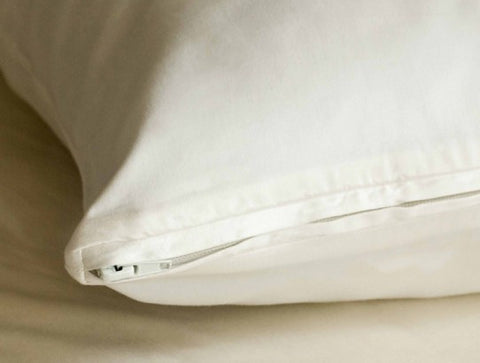 Coyuchi Organic Cotton Pillow Protector - 3 Sizes - The Green Life Company