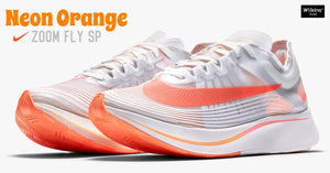 NIKE ปล่อย ZOOM FLY SP NEON ORANGE