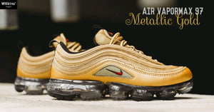 "NIKE ปล่อย AIR VAPORMAX 97 ""METALLIC GOLD"""