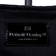 DDCo. Premium Tote in Black Japanese Selvedge and Patent Leather