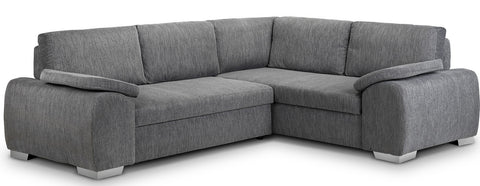 Enzo Right Hand Fabric Corner Sofa Bed Sofa Beds- KC Sofas