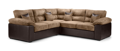 Hollow Large Corner Sofa