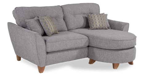Ashleigh 3 Seater Formal Back Lounger Sofa Chaise Sofas- KC Sofas