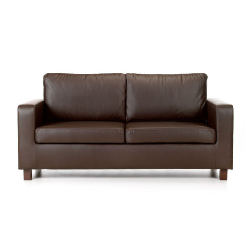 Maxwell 3 Seater Faux Leather Sofa