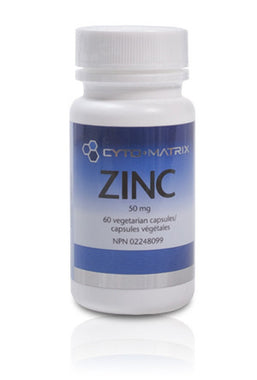 Cyto Matrix Zinc Citrate 60 Caps