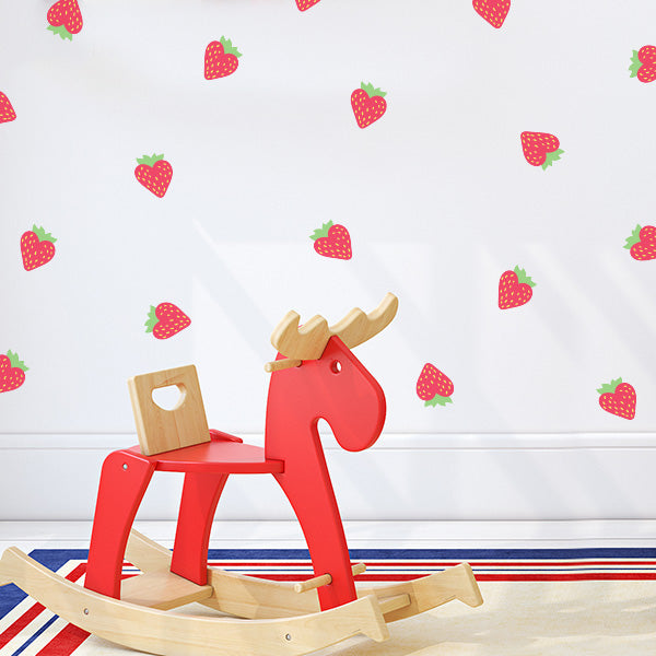 Strawberry Patch Wall Decals
