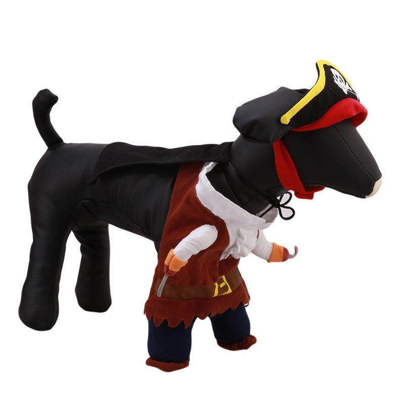 Caribbean Pirate Dog Costume - Halloween Special - 50% OFF!