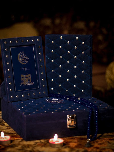 Royalé Eid Gift Box - Supreme - Blue - Upahara - 1