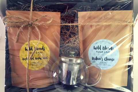 Wild Blends organic tea Christmas Hamper