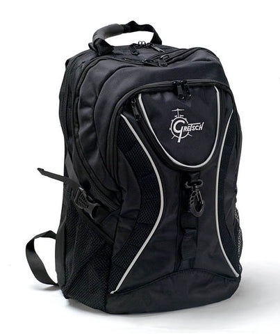Gretsch Drums GR-BKPK Deluxe Adjustable Shoulder Straps Backpack - Black