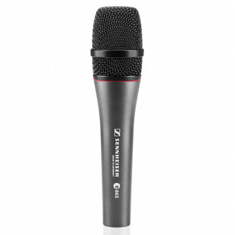 Sennheiser E865S - Super-Cardioid Handheld Condenser Microphone with On/Off Switch