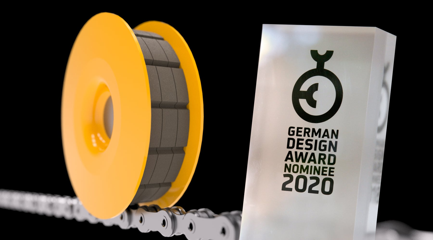 FLECTR LUBRI DISC - German Design Award 2020 nominee for Excellent Product Design