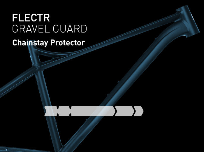 FLECTR Gravel Guard chainstay protector