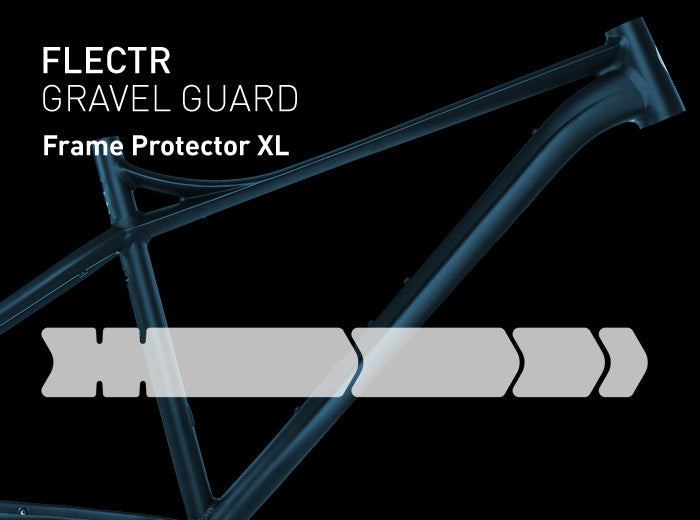 FLECTR Gravel Guard XL bike frame protector