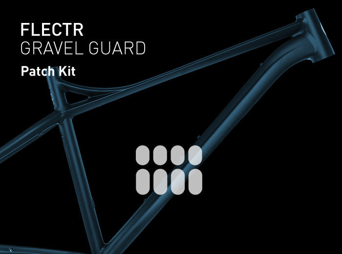 FLECTR Gravel Guard custom patch kit