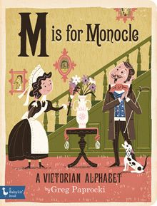 BabyLit M is for Monocle