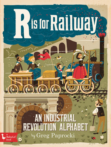 BabyLit R is for Railway