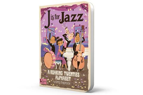 J is for Jazz cover