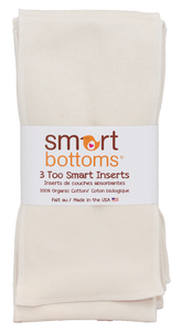 Smart Bottoms Too Smart Cotton Inserts