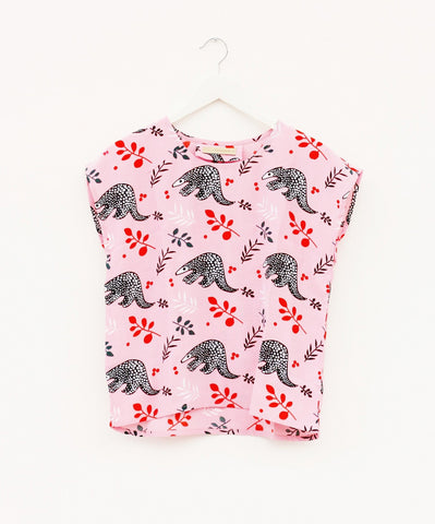 Pink Pangolin Astro Top