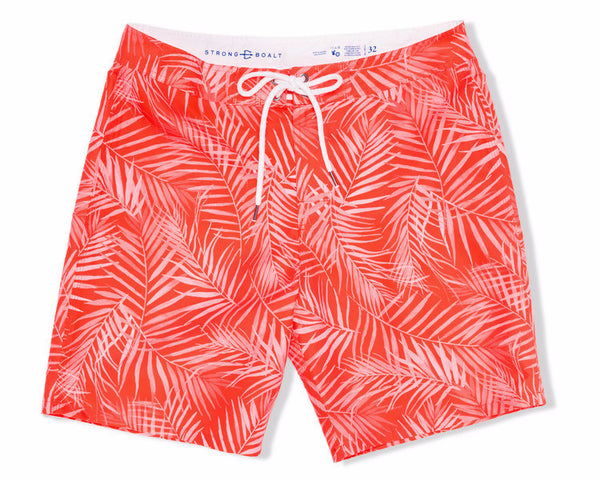 Classic Boardshort X-Ray Palms - Red