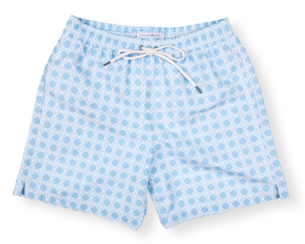 Classic Swim Trunk Bamboo - Washed Blue