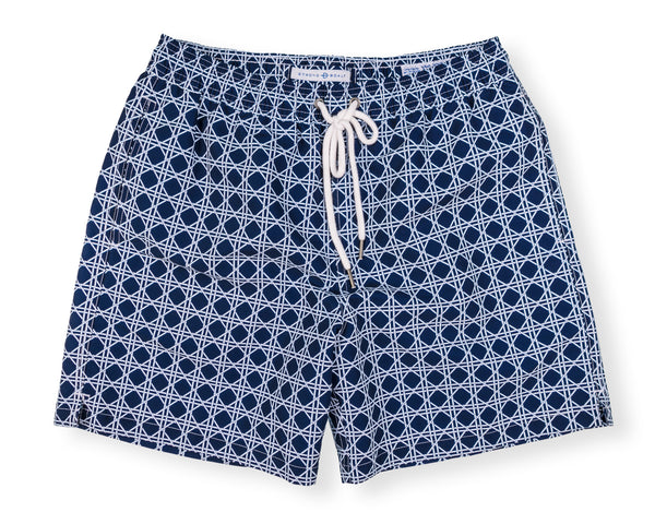 Classic Swim Trunk Bamboo - Navy
