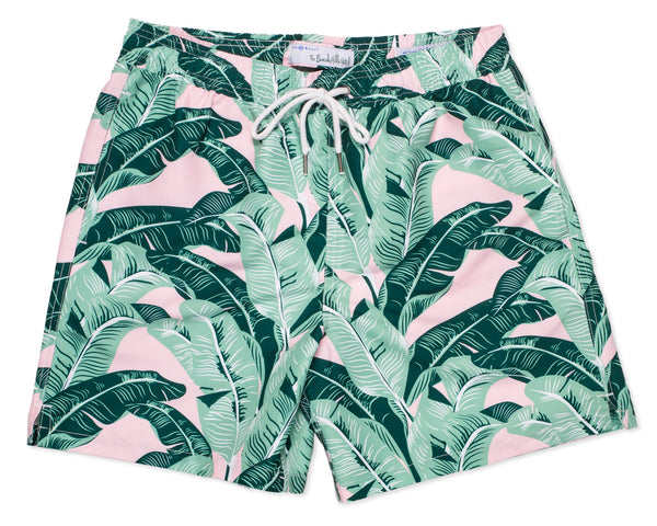 NEW Classic Swim Trunk Beverly Hills Banana Palm - Multi