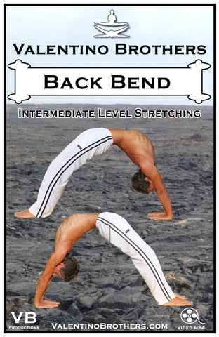 Back Bend Intermediate Level Video mp4 - VALENTINO BROTHERS