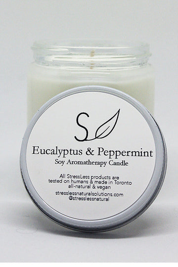 Eucalyptus & Peppermint Aromatherapy Candle