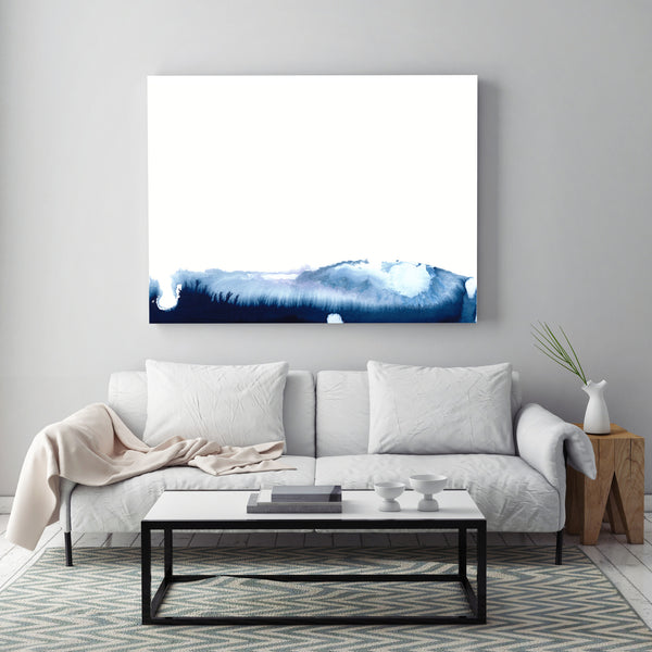 Blue Mountains by Jules Tillman - Fine Art Abstract Prints
