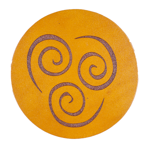 Airbender Inspired Coaster
