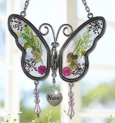 Butterfly Suncatcher for Nurse