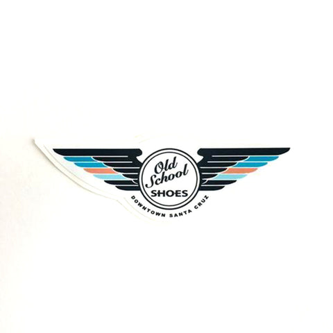 Winged Logo Sticker