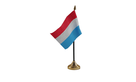 Luxembourg Table Flag