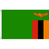 Zambia National Flag - Budget 5 x 3 feet