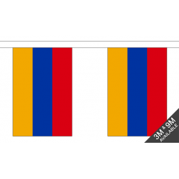 Amenia Flag  - Fabric Bunting Flags - United Flags And Flagstaffs
