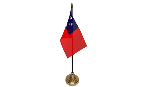 Samoa Table Flag